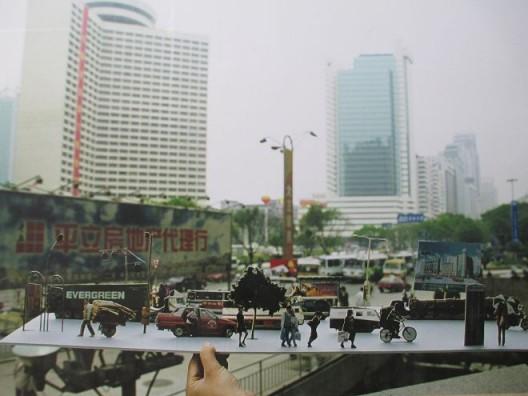 陈劭雄,《街景Ⅱ》,14张彩色摄影,1998. Chen Shaoxiong,