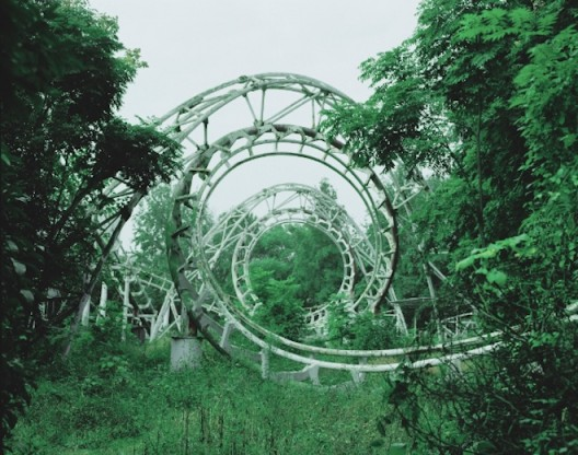 Chen Zhuo, Abandoned roller coaster, Archival Inkjet Print, 80×63.5cm, 120×150cm, Ed.of 6+AP, 2013, Courtesy of Hunsand Space, Beijing