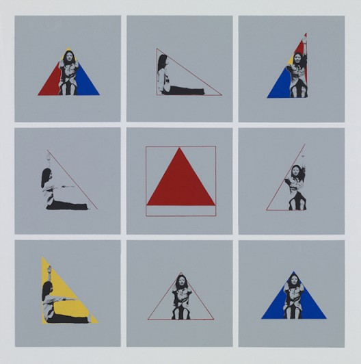 A Study On Body, 1981, series of five silkscreen prints on paper, 34 x 34cm Courtesy of the artist, Image provided by Kukje Gallery