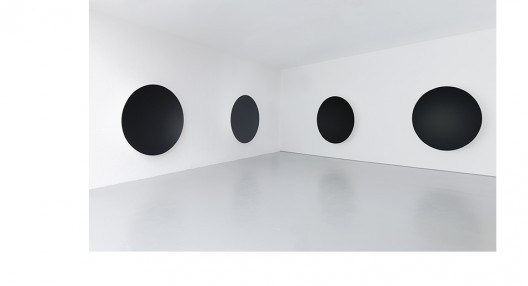 "Anish Kapoor, ""Gathering Clouds I, II, III, IV"", 2014, Fiberglass and paint, 188 x 188 x 39 cm (each), Image © Anish Kapoor,Image provided by Kukje Gallery"
