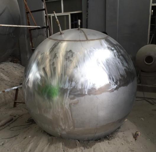 张权 Zhang Quan  (b.1989) 球 The Ball, 2016 混合材料Mixed Media 直径Diameter 80cm_2