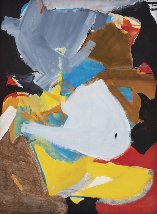 """Choi Wook-kyung, """"Untitled"""", c.1970, Acrylic on paper, 54.5 x 40 cm, Courtesy of the artist's estate and Kukje Gallery, Image provided by Kukje Gallery"""