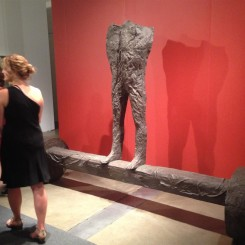 Magdalena Abakanowicz for one of the Expo Projects (Marlborough Gallery)