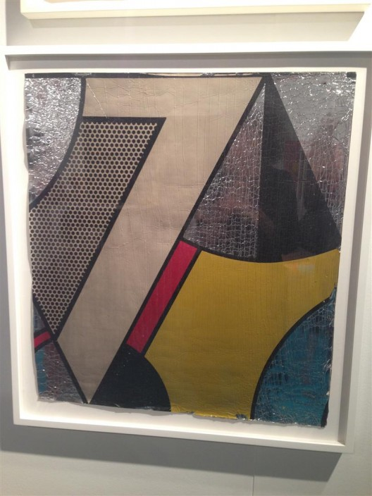 Lichtenstein wallpaper at Alden Projects