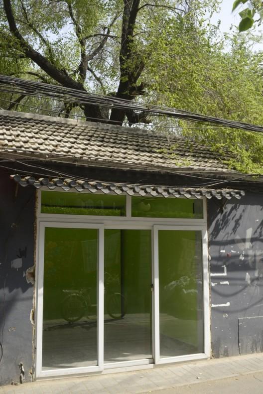 "He Chi, ""Next Door"", 2016, Installation view何迟《隔馆》,展览现场,2016 Courtesy of Arrow Factory (箭厂空间)"