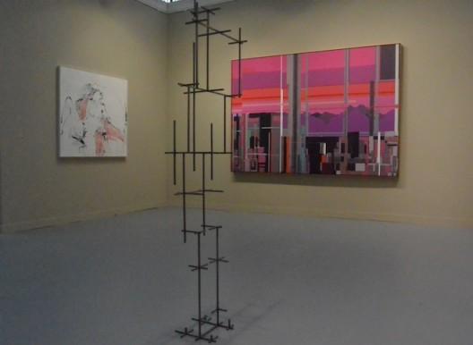 Tracey Emin, Antony Gormley and Liu Wei at White Cube