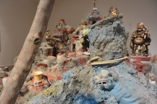Mike Kelley at Hauser & Wirth, Mayfair. Framed and Frame (Miniature Reproduction