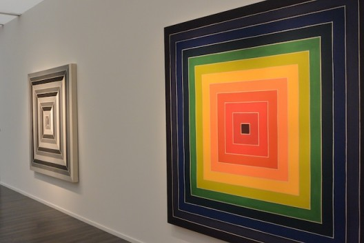 Frank Stella at the three graces - Marianne Boesky Gallery, Dominique Lévy and Sprüth Magers