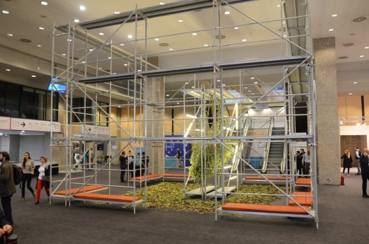 Contemporary Istanbul 2016, view of the fair. Courtesy Contemporary Istanbul.