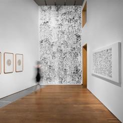 """""""Wang Dongling: Writing Chaos"""", installation view, at INK Studio, Beijing. Photo: Alan Yeung and Yang Li. Courtesy: INK studio"""