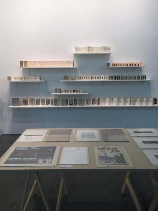 Installation shot Klaus Lutz at gallery Rotwand, Artissima 2016, courtesy Rotwand, Zurich and the Estate of Klaus Lutz