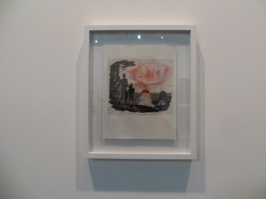 installation shot Pat O'Neill at Monitor Gallery (Rome), Artissima 2016