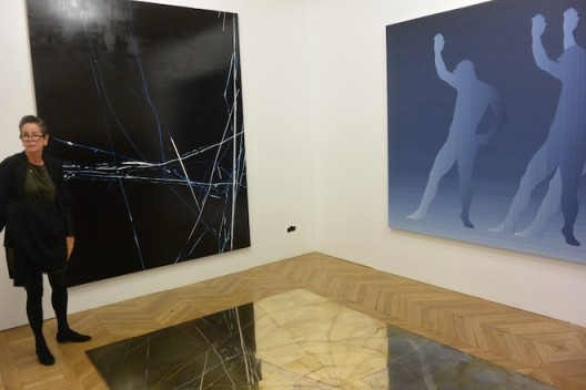 One of the best exhibits at Asia Now was Tang Contemporary's solo show of Zhao Zhao (why is Tang not at fiac?)