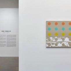 Installation View at Kim Yong-Ik, Photo : Keith Park, Image provided by Kukje Gallery金容益个展展览现场,摄影:Keith Park,图片由首尔国际画廊提供