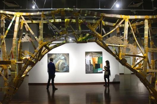 """""""SAGER: Ties of Tenggara"""", exhibition view at National Visual Arts Gallery"""