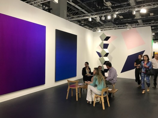 Perez Museum booth, taking a leaf out of Fondation Beyeler's playbook