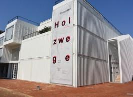 The new ShanghART gallery at West Bund (image Chris Moore)