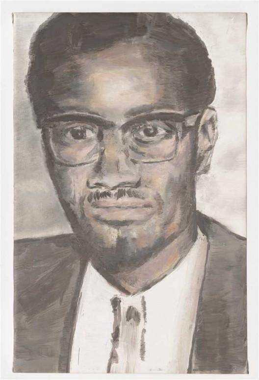 """吕克·图伊曼斯,《卢蒙巴》,布面油画,62 × 46 cm,2000(图片由伦敦/纽约大卫·茨维尔纳 画廊提供)/ Luc Tuymans, """"Lumumba"""", oil on canvas, 62 × 46 cm, 2000. Courtesy David Zwirner, New York/London."""