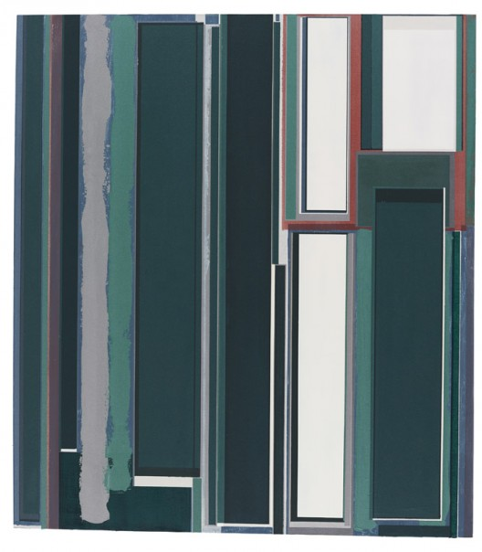一封信总会抵达目的地之一   oil acrylic and waterpait on canvas 180x165cm 2016