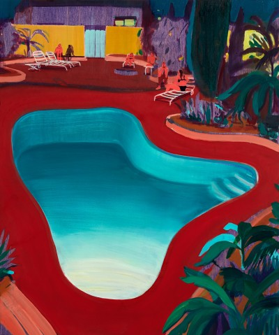 Jules de Balincourt Valley Pool Party, 2016