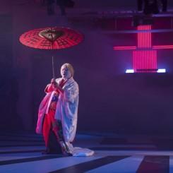 "Tianzhuo Chen, ""Ishvara"",performance view, Long March Space, Beijing, June 9, 2016 (Photo: Zhuang Yan) 陈天灼,《自在天》,表演现场,长征空间,北京,2016年6月9日(摄影:庄严)"