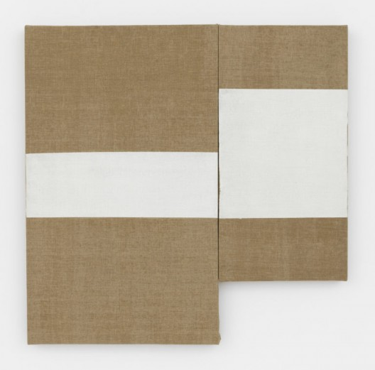 Marriage, 1975, Latex on two (2) linen panels, 30 x 30 1/4 inches (76.2 x 76.8 cm), © 2017 The Estate of Al Taylor