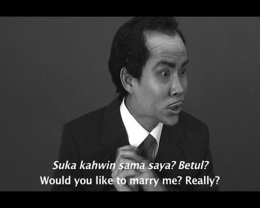 "黄汉明,《四个马拉故事》/ Ming Wong, ""Four Malay Stories"""