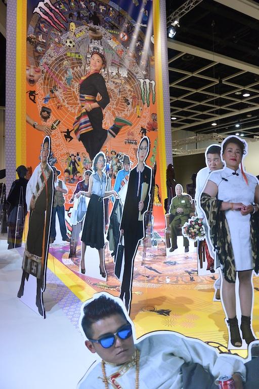 Gonkar Gyatso at Encounters, Pearl Lam Galleries