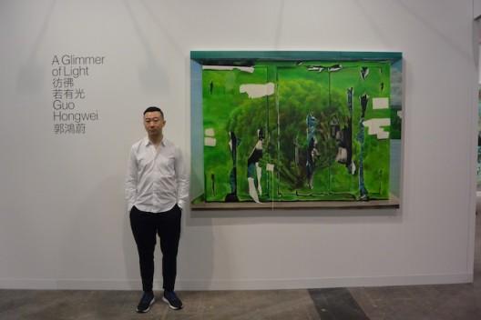 Artist Guo Hongwei at Chambers Fine Art (Beijing & New York) (Ran Dian images)
