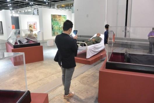 Shen Shaomin in Encounters (OSAGE Gallery) (image Ran Dian magazine)