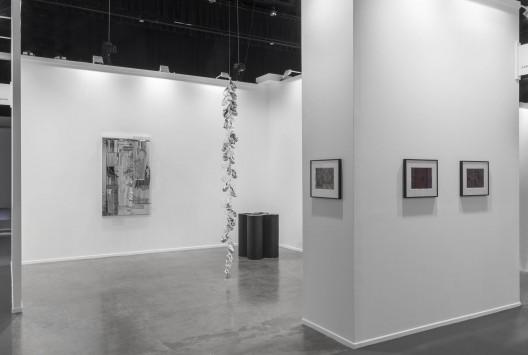 carlier | gebauer, Hall 1, booth B9, installation view at Art Dubai 2017. Photo- Sebastiano Pellion di Persano