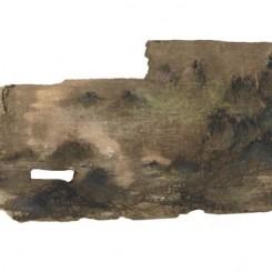 山河藏 11.5cm x6cm 综合材料