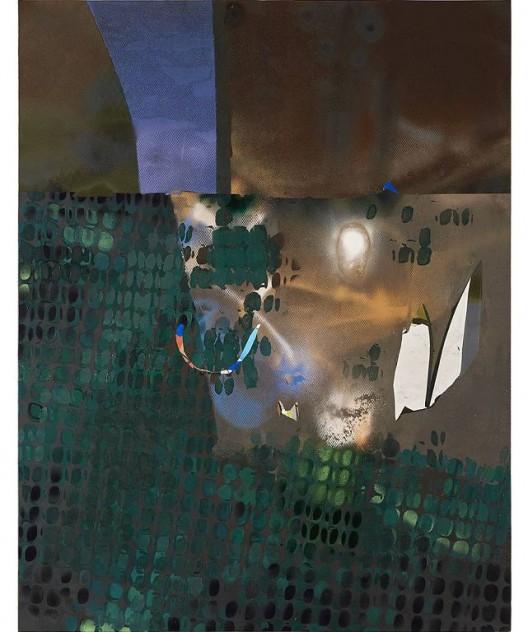 韩冰,《SOHO》,亚麻布面丙烯,2016 HAN Bing, SOHO, Acrylic on Linen, 173×135cm