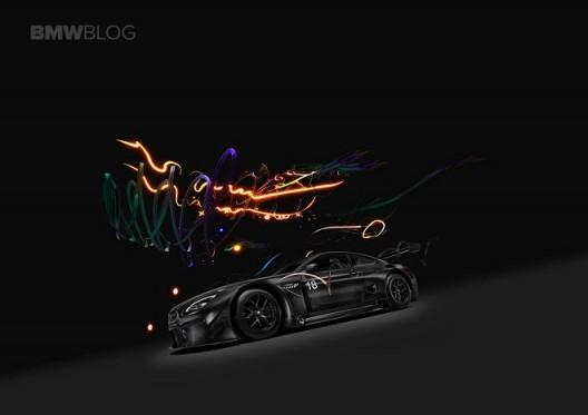 BMW Art Car #18 by Cao Fei: Augmented Reality still (detail). BMW Art Car based on the BMW M6 GT3. © BMW AG and Cao Fei Studio 曹斐设计的第18辆宝马艺术汽车:增强现实,截图(局部),在宝马M6 GT3基础上打造的宝马艺术汽车,(版权归宝马和曹斐工作室所有)