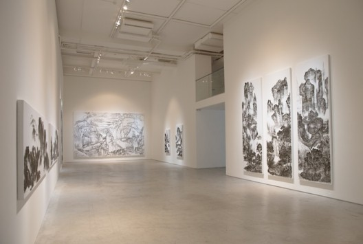 Installation view (image courtesy the artist and Tina Keng Gallery)