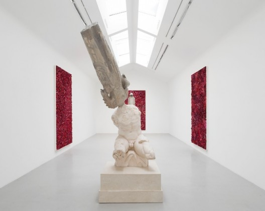 View of the exhibition Xu Zhen « Civilization Iteration » at Perrotin Paris Photo : Claire Dorn Courtsey Perrotin
