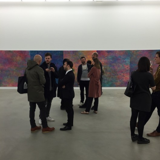 Jean-Baptiste Bernadet Almine Rech Gallery Brussels 2016 (photo Chris Moore)