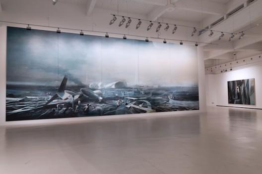 Jia Aili at CAC Malaga 2017 installation view