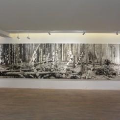 "Lu Chao ""Black Box"" (installation view)"