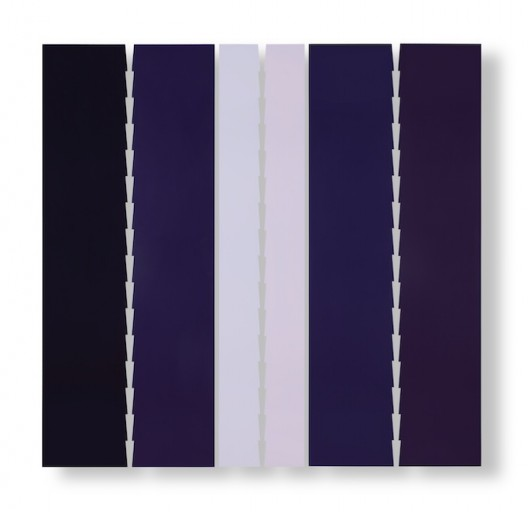 Tess Jaray, Aleppo - The Light Surrounded, 2016, paint on panel, 194 x 200 cm, copyright Tess Jaray, 2017. All rights reserved. Courtesy of Karsten Schubert and Marlborough Fine Art, London
