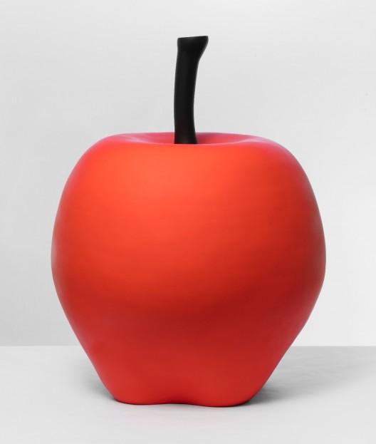 《苹果》,雕塑 Apple, sculpture 73.7 × 61 × 61 cm,2017