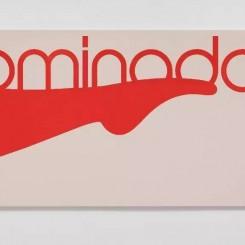 《布鲁明戴尔百货店》,布面水粉 Bloomingdale's, gouache on canvas 132.1 × 381 cm,2016
