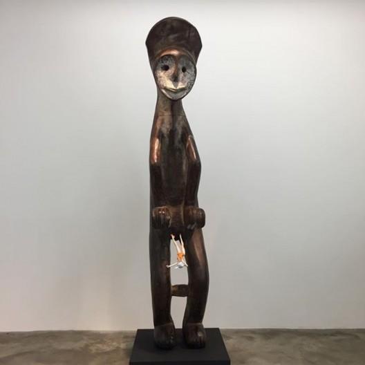 Xu Zhen at PERROTIN Paris 2017 (Chris Moore)