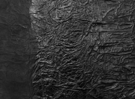 """Yang Jiechang, Detail of Hundred Layers of Ink, 1990, ink on paper and gauze, 95 x 86 cm. 杨诘苍: """"千层墨""""(局部),1990,墨、胶、矾、纱布、宣纸,95 x 86 cm."""