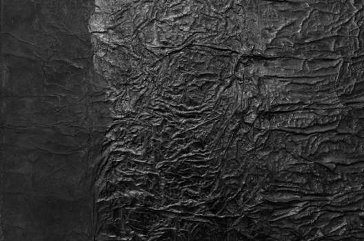 Yang Jiechang, Detail of Hundred Layers of Ink, 1990, ink on paper and gauze, 95 x 86 cm. 杨诘苍: