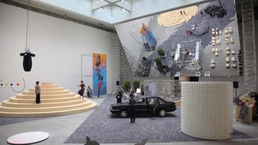 "Seeds of Time, Shanghai Himalayas Museum Atrium installation view, 2017. Image Courtesy of the Shanghai Project ""时间的种子""展览上海喜玛拉雅美术馆中庭现场图,2017. 图片由上海种子提供"