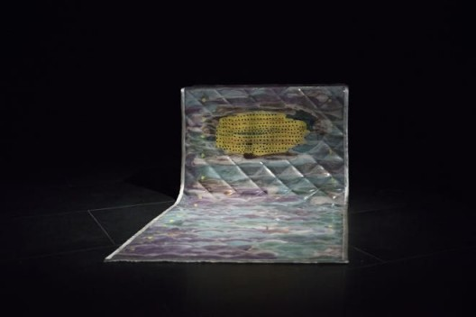"Jacqueline Kiyomi Gordon, ""Noise Blanket, No. 5"", 2017 (Courtesy of Empty Gallery) Jacqueline Kiyomi Gordon,《噪音毯子,No. 5》,2017(图片由Empty Gallery 提供)"