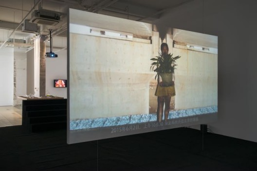 "PATTY CHANG,""Configurations"",installation view,Bank,Shanghai,2017. 张怡,""架构"",展览现场图,Bank,上海,2017。"