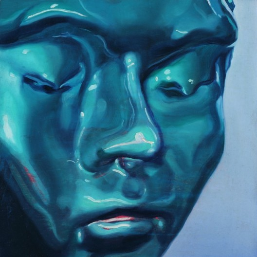 "ZHANG Yunyao ""Hope"", 2015, Oil on panel, 30 x 30 cm,Courtesy the Artist, Perrotin and Don Gallery張雲垚,《希望》,2015,木板上油彩,30 x 30 cm,图片提供:艺术家、贝浩登和东画廊"