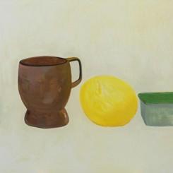 翟倞,形状,布面油画,156 x 231cm,2017Zhai Liang, Shapes, Oil on Canvas, 156 x 231cm, 2017